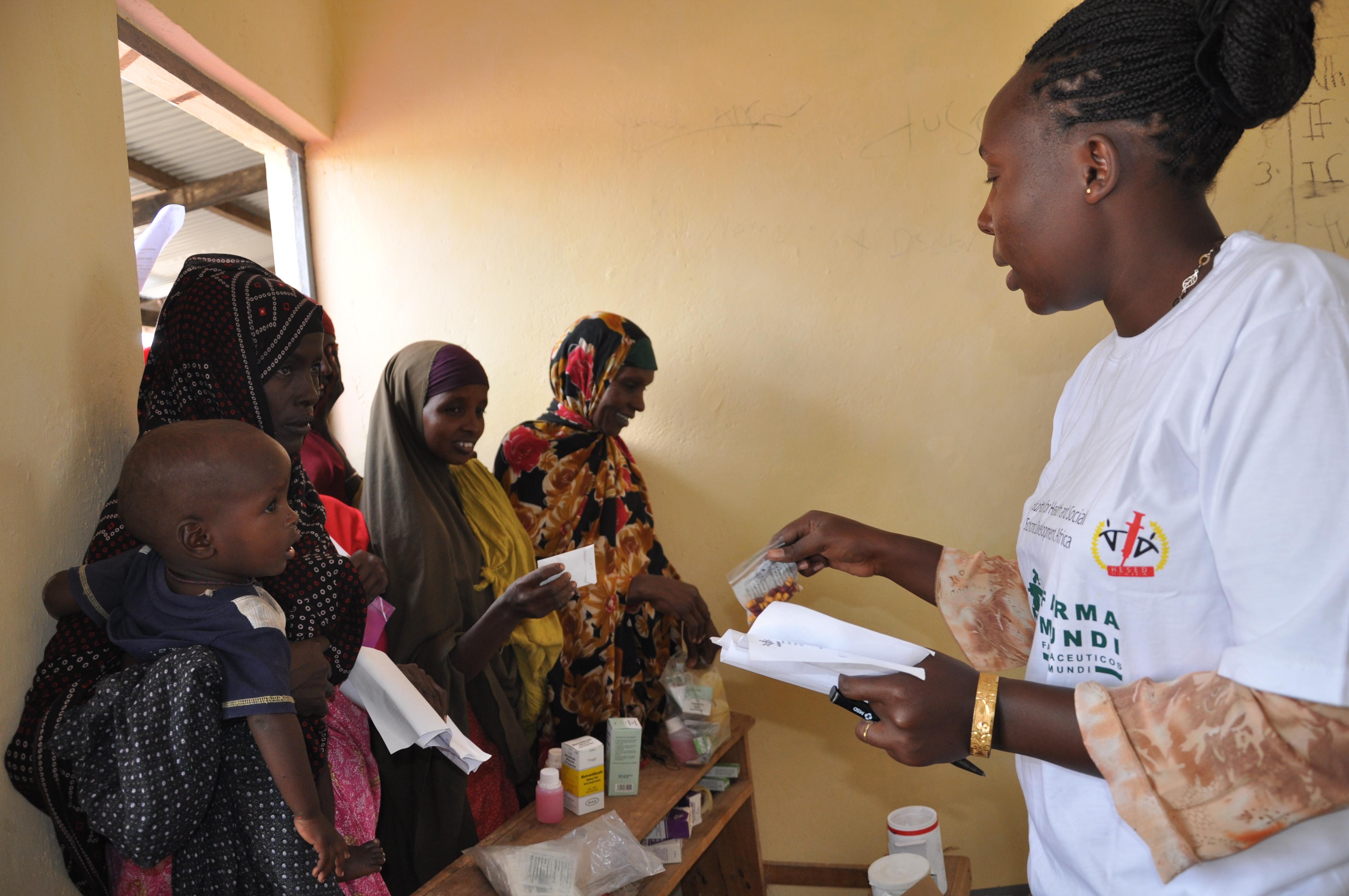 Atención sanitaria en Dadaab, Kenia. /Farmamundi