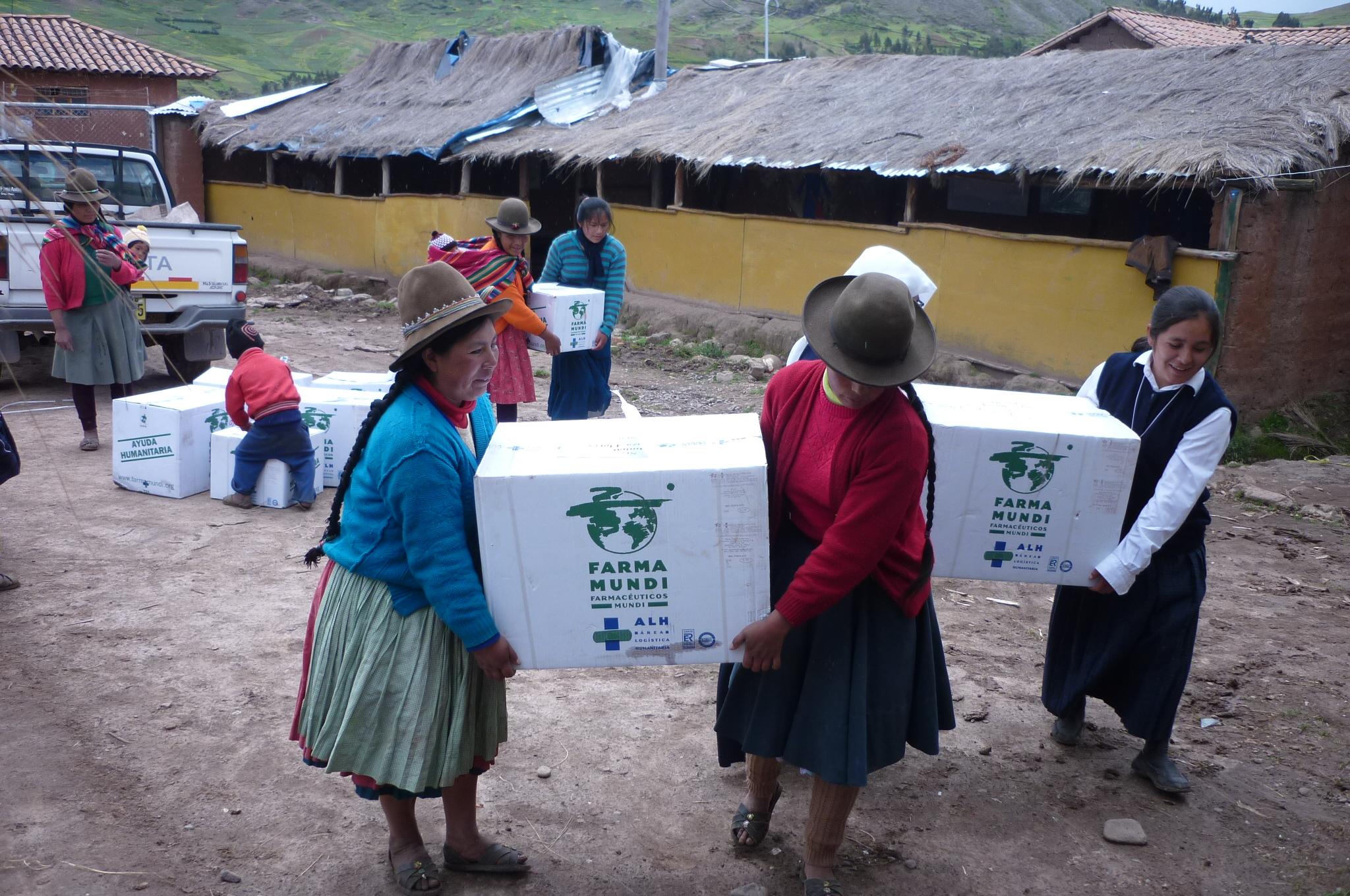 Suministro de medicamentos en Perú.