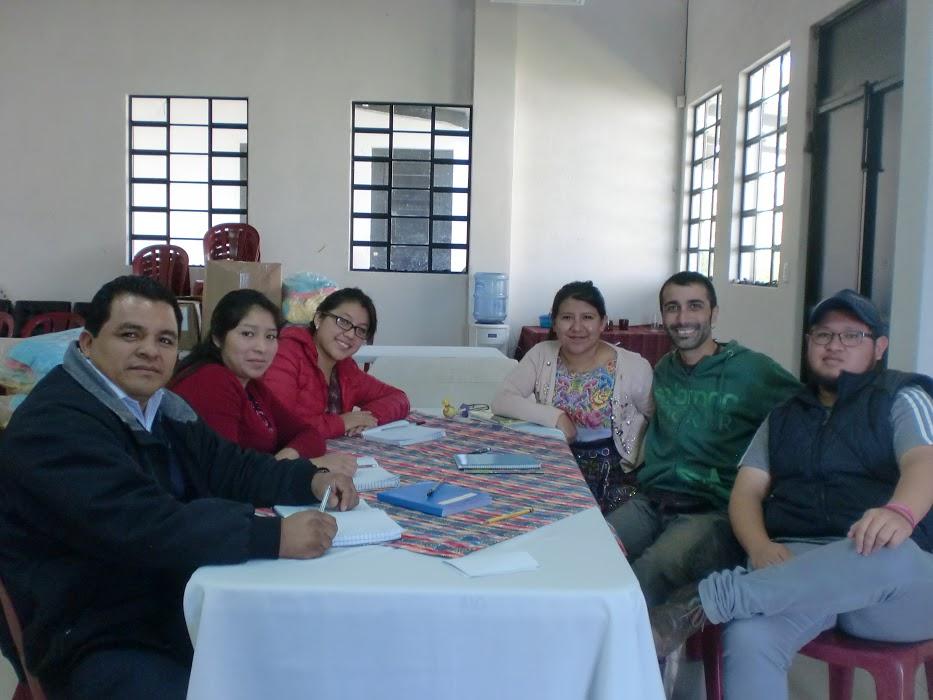 Con parte del equipo de trabajo de ASECSA.